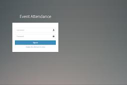 Aplikasi barcode absensi event dengan PHP, MySQL dan Bootstrap 3