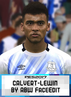 PES 2017 Faces Calvert-Lewin by ABW_FaceEdit