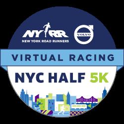 New York Road Runners Virtual 5k badge