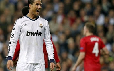 Cristiano Ronaldo against Manchester United