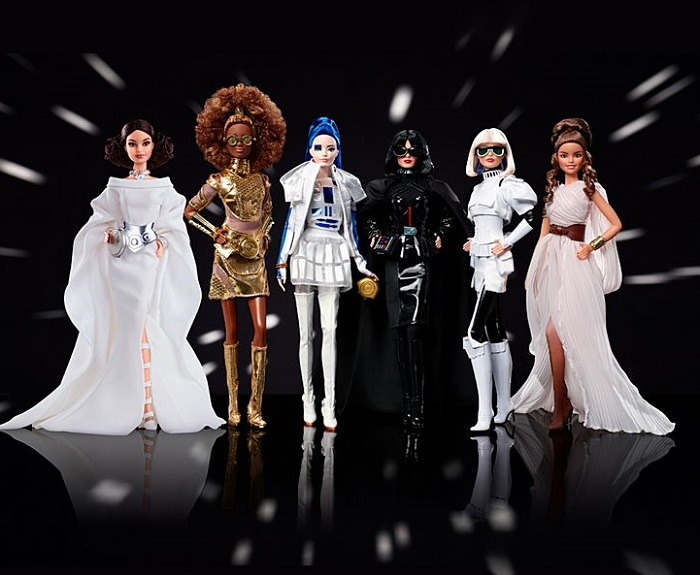 7 Barbies In Star Wars Mode Unleashed
