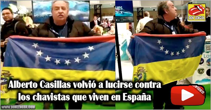 Alberto Casillas volvió a lucirse contra los chavistas que viven en España
