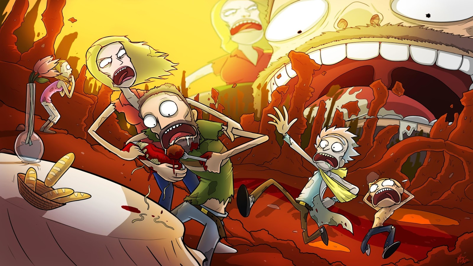 50 1080p Rick And Morty Hd Wallpapers 2020 Hd Backgrounds For Computer We 7