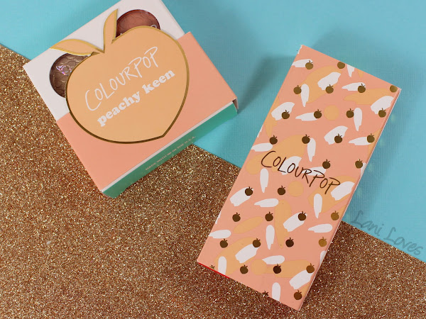 ColourPop Just Peachy Set Swatches & Review