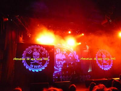 escenario de W.A.S.P.