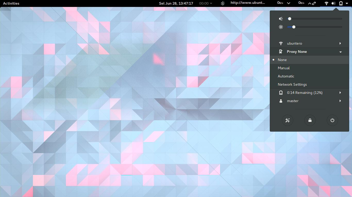 Proxy Switcher: GNOME Shell Extension