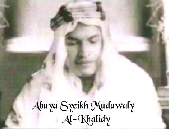 Silsilah & Sanad Keilmuan Abuya Syeikh Mudawaly Al-Khalidy