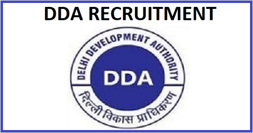 DDA Various Post Recruitment 2020
