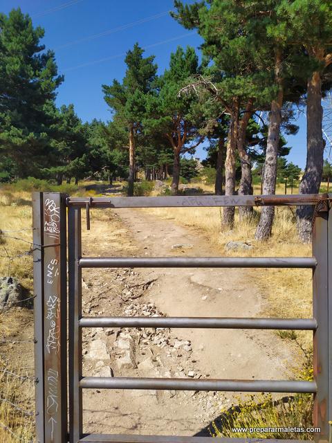 inicio ruta Arcipreste de Hita Guadarrama
