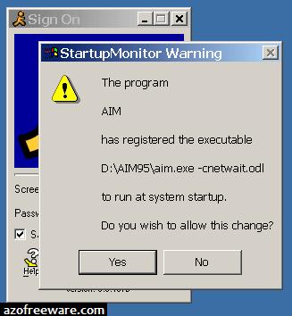 StartupMonitor