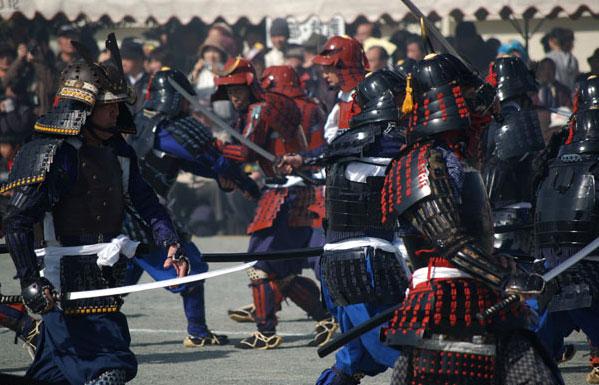 Sengoku Higo Matsuri (Samrai Festival) at Nagomi Town, Kumamoto Pref.
