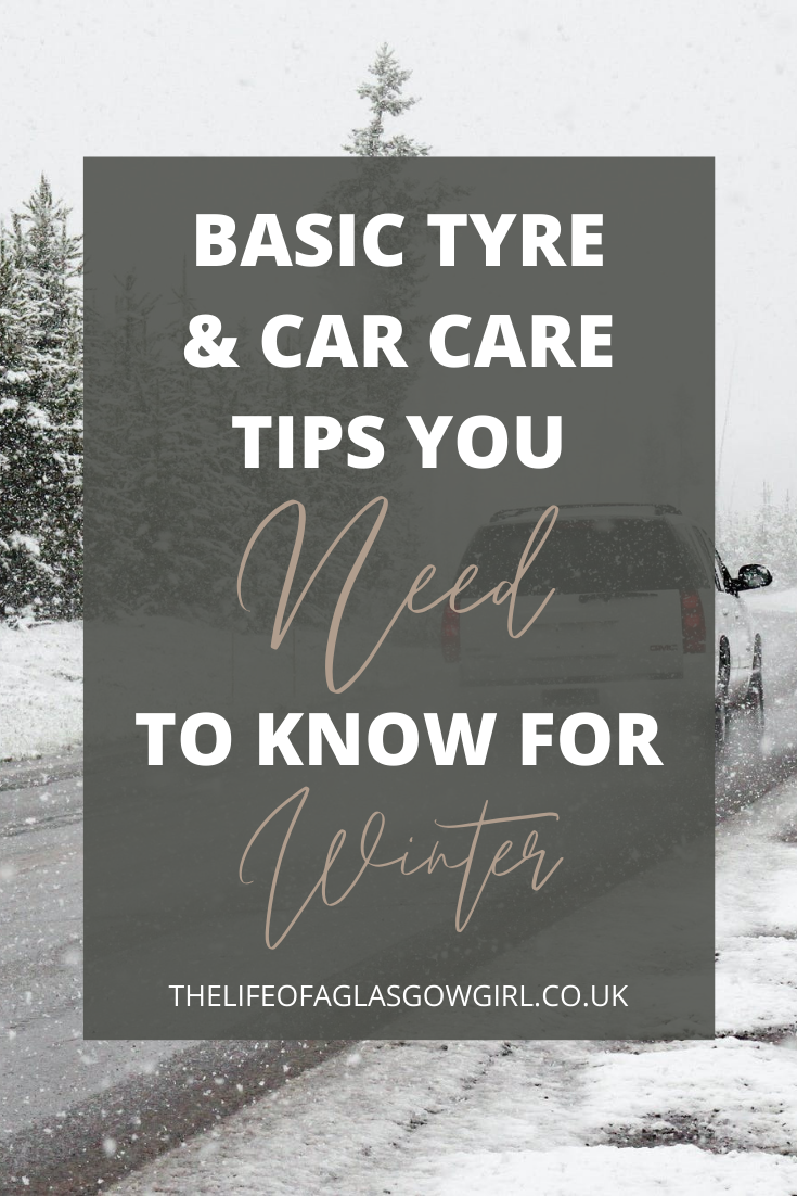 Pinterest Image for Basic Tyre and Car Care Tips You Need to Know for Winter