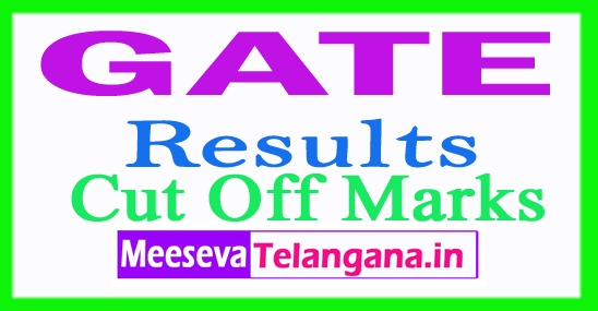 GATE 2018 Results Score Card Cut Off Marks Branch Wise