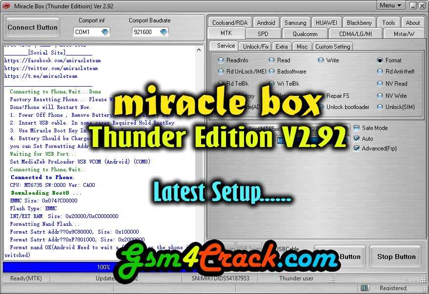 Miracle box setup latest version 2 92 | Miracle Box  2019-04-06