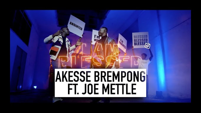 New Music Video: Akesse Brempong Releases 'Blessed' Featuring Joe Mettle