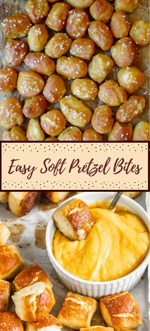 Easy Soft Pretzel Bites #dinnerrecipe #food #amazingrecipe #easyrecipe