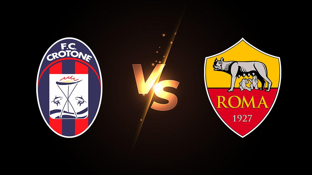 بث مباشر مباراة روما وكروتوني