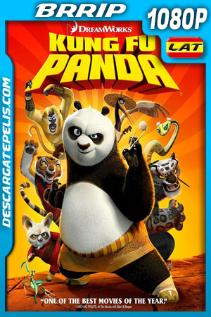 Kung Fu Panda (2008) 1080p BRrip Latino – Ingles