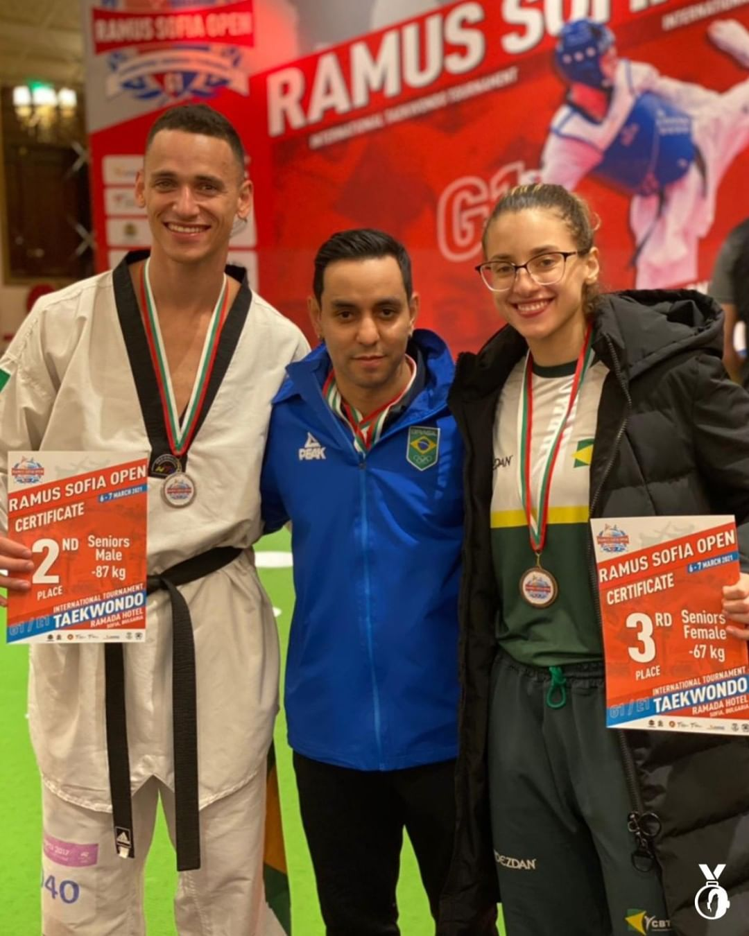 ícaro miguel milena titoneli taekwondo brasil
