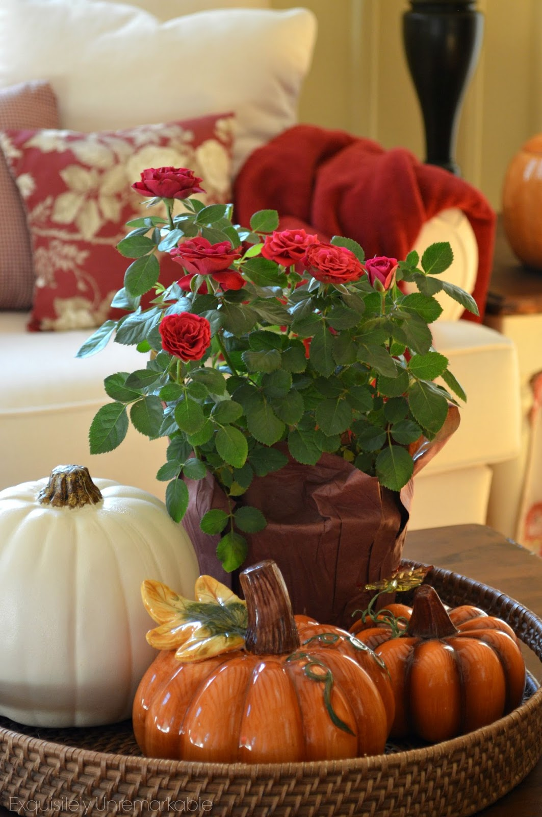 Fall Decor Cottage Style