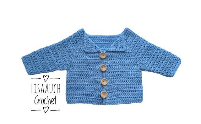 newborn crochet cardigan free pattern