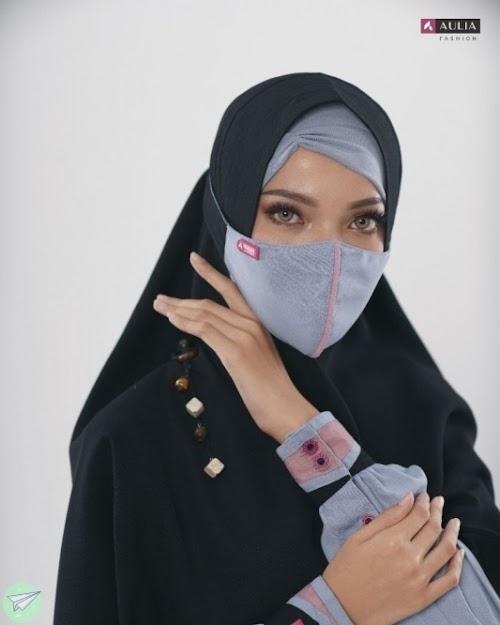 masker hijab aulia nigella ocean