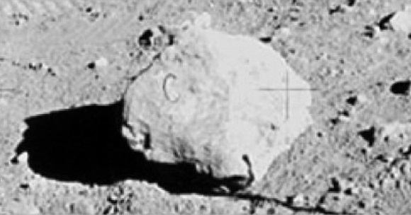 This Bizarre Letter C Was Found on a Moon Rock