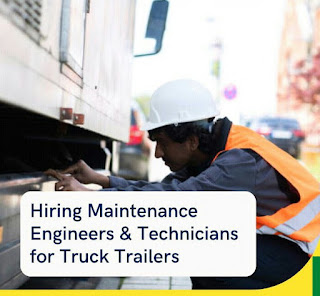 ITI, Diploma or BE/ B.Tech Jobs Vacancy For Maintenance Engineers & Technicians for Truck Trailers, Salary Rs 30000 to Rs 50000 Per Month, Job Location Barbil, Odisha