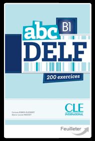 Książka abc B1 DELF - 200 exercices