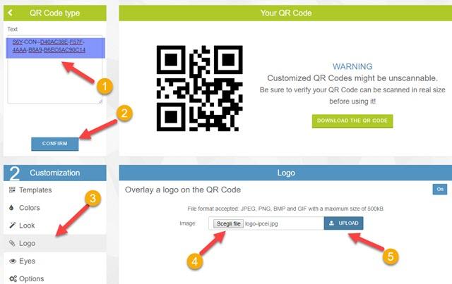 caricare-testo-logo-qr-code