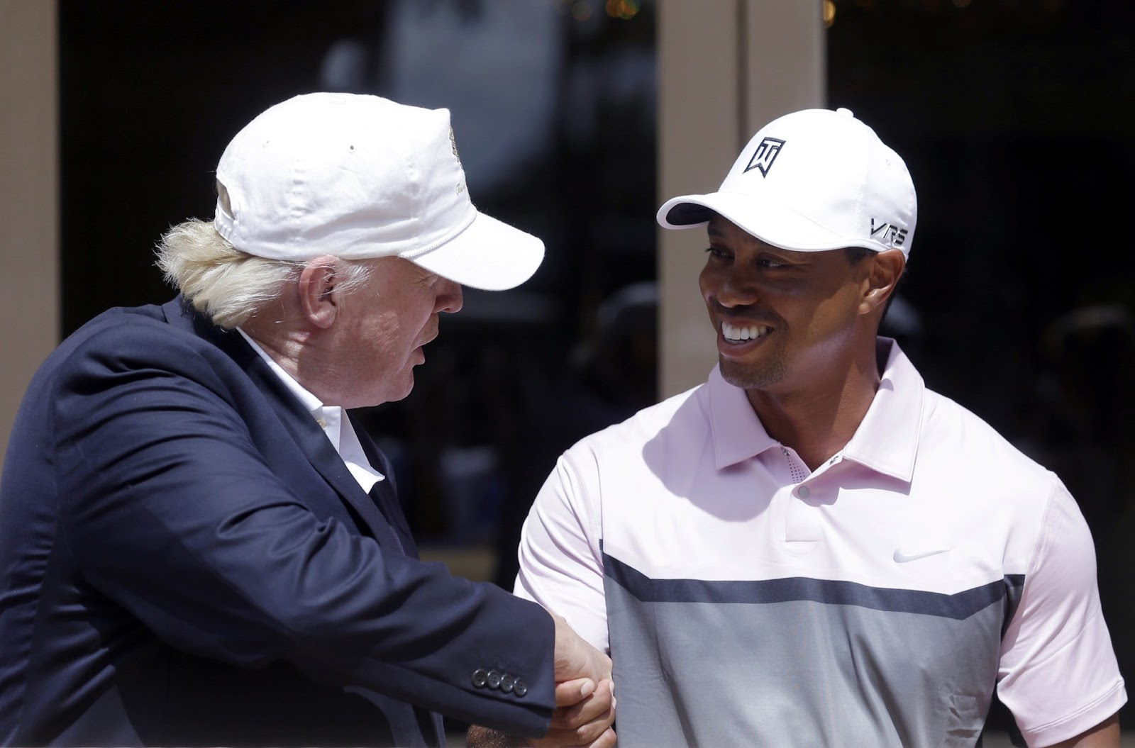 TIGER WOODS, DONALD TRUMP 7