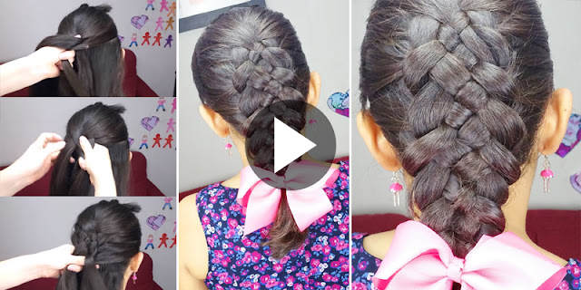 DIY - How To Create 5 Strand Braid Hairstyle, See Tutorial
