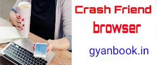 Prank trick,crash friend mobile or pc browser
