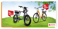 Castiga 10 biciclete electrice Pegas - concurs - rompetrol - spring - alimenteaza - castiga.net