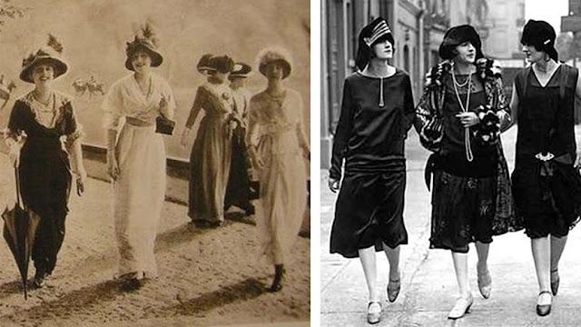 sociedade e a mulher 1910 a 1920