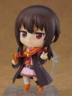 "Nendoroid Megumin: School Uniform Ver. de ""Konosuba"" - Good Smile Company"