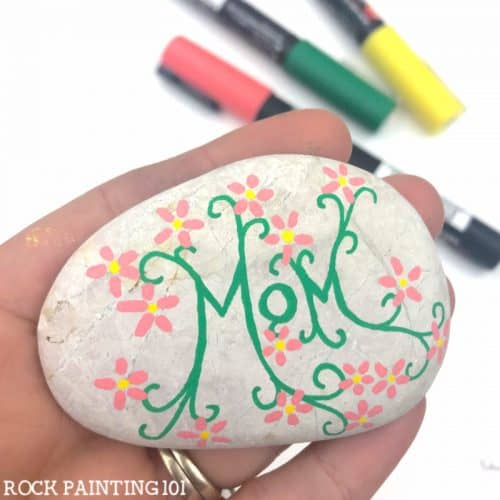 Rock Painting For Mothers Day 2021