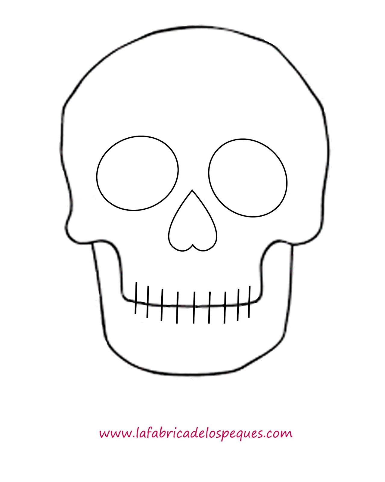 Plantillas E Imprimibles Gratis Para Halloween Calaveras