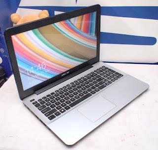 Laptop Gaming Asus X555D Bekas