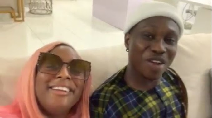 DJ Cuppy gifts Zlatan a new expensive headset