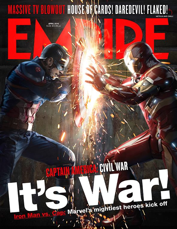 Capitan America: Civil War Empire