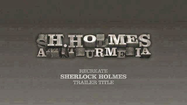 Recreate Sherlock Holmes Title in Cinema 4D