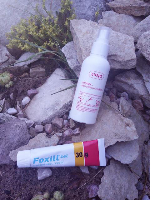 Foxill żel na oparzenia i ukąszenia owadów