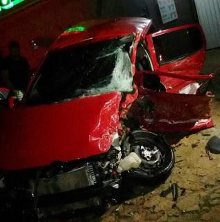 Acidente fatal entre e carro