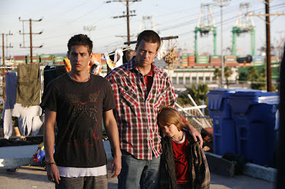 'Shelter' is a 2007 American film directed and written by Jonah Markowitz, with Trevor Wright and Brad Rowe