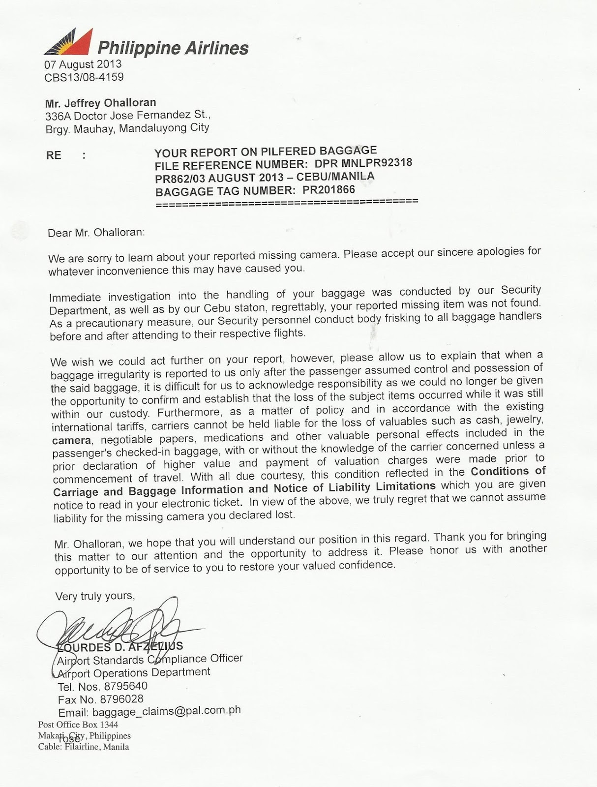 Philippine+Airlines+reply Ojt Application Letter Sample For Airline on sample recommendation, intent for, trinidad cover, request school for,