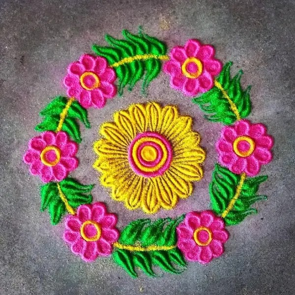 Latest_colors_full_flowers_with_leaves_design