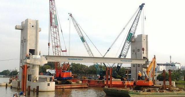 Dự án chống ngập 10.000 tỷ bị chậm vì nhà đầu tư tự ý dùng thép Trung Quốc
