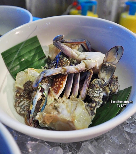 Kontiki Seafood BBQ Buffet Menu - Crabs