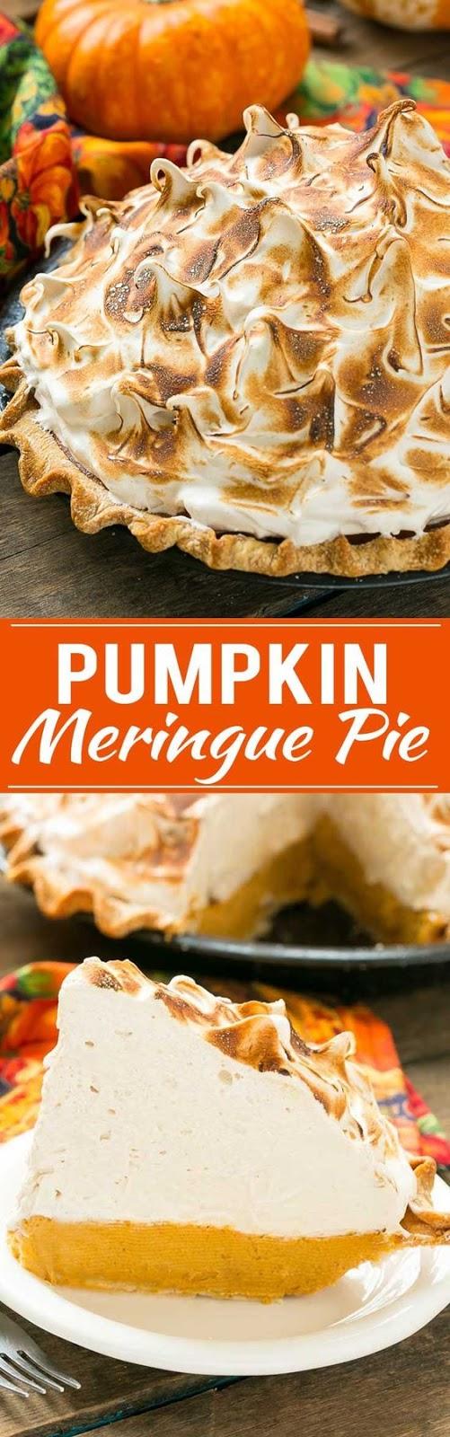 Pumpkin Meringue Pie   CUCINA DE YUNG